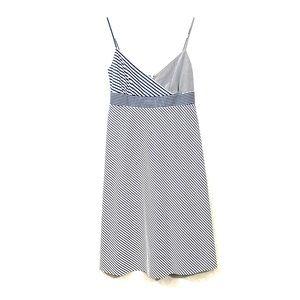 J.Crew blue/ white striped sundress. Size 4